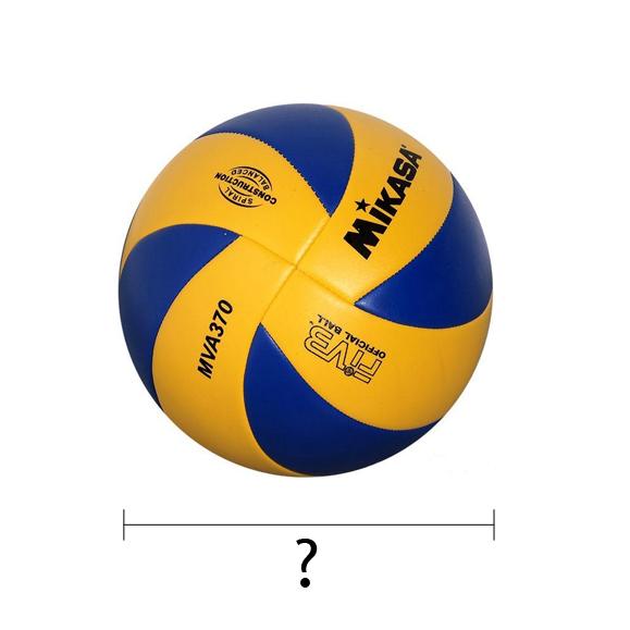 Jaką średnicę mają piłki do siatkówki?
