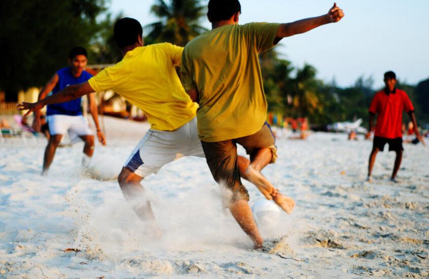 piłka do siatkówki plażowej