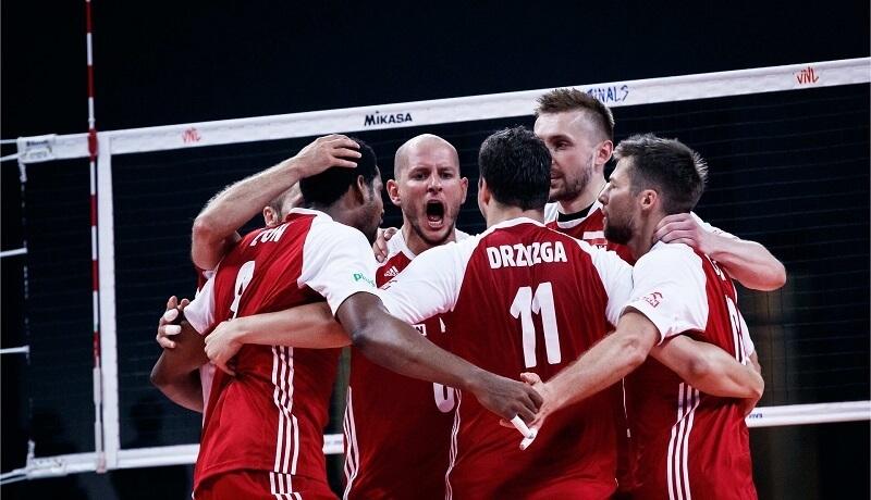 Polscy siatkarze - Liga Narodów 2021
