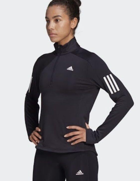 bluza adidas treningowa dopasowana czarna